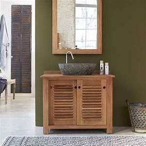 impressionnant meuble bois salle de bain pas cher et With meuble salle de bain pas cher bois