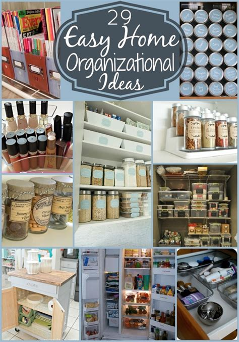 Ideas Organizing by 29 Easy Home Organization Ideas Tips 4 Real