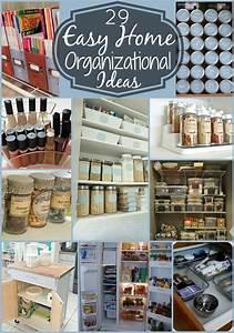 29, Easy, Home, Organization, Ideas, U0026, Tips