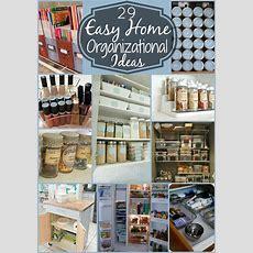 29 Easy Home Organization Ideas & Tips  Mom 4 Real