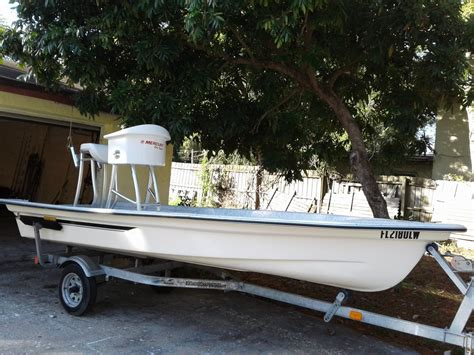 Skiff With Tower by Custom Micro Skiff The Hull Boating And Fishing