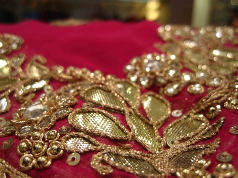 embroidery trends  gota work  brides fashion