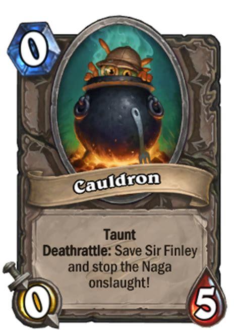 hearthstone taunt deck 2015 cauldron hearthstone card