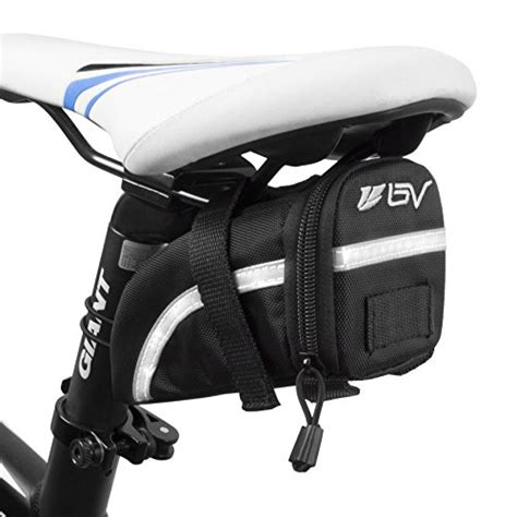 saddle bike bag bv bicycle seat medium bags strap pocket road under mtb mesh inside mount cycling pouch sb5 velcro