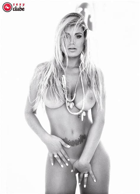 Yummy Andressa Urach Nude Photoshoot At Beach For Sexy Club Magazine Hot Girls
