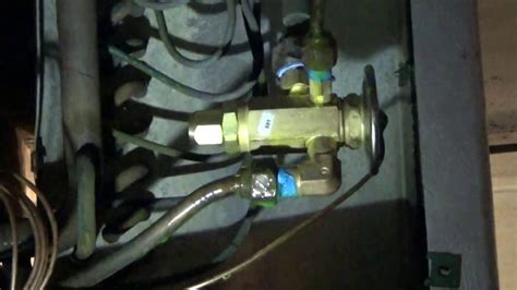 expansion valve replace  adjust youtube