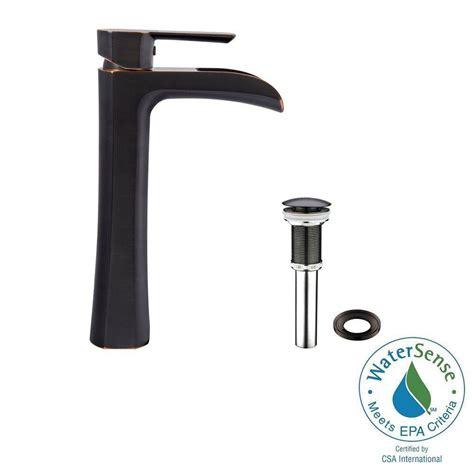 vigo vessel sink single faucet vigo single single handle vessel bathroom faucet in
