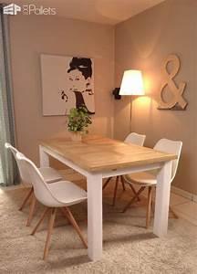 IndoorOutdoor Pallet Dining Room Table 1001 Pallets