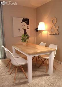 Table En Palette : indoor outdoor pallet dining room table 1001 pallets ~ Melissatoandfro.com Idées de Décoration
