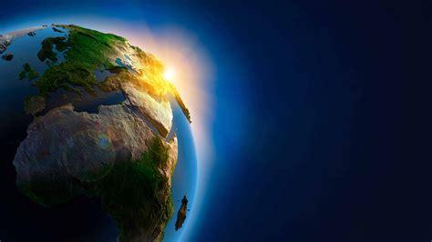 3 Monitor Desktop Wallpaper Earth 3d From Space Uhd 8k Wallpaper Pixelz