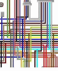 Yamaha Xj550  Xj600  Xj650 Colour Wiring Loom Diagrams