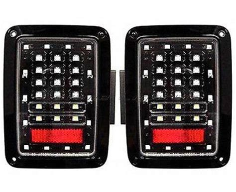 jeep wrangler jk tjl lumileds led tail lights