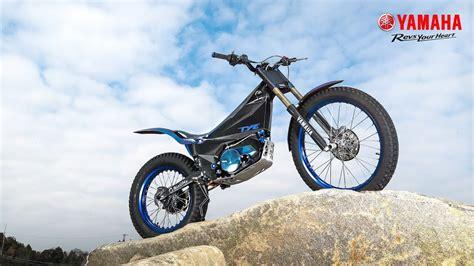trial bike motorrad yamaha ty e electric trial bike