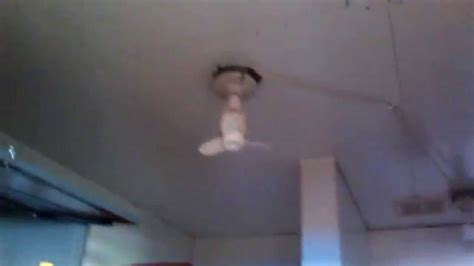 vintage light socket in ceiling fan