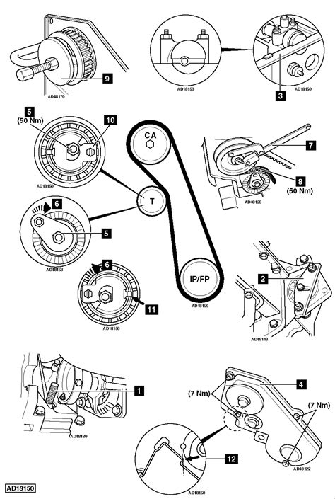 how to replace timing belt ford focus 1 8 tddi 1999 2005