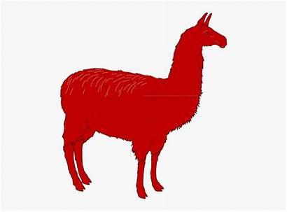 Llama Silhouette Svg Clipart Clip Vector Alpaca