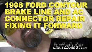 1998 Ford Contour Brake Line  U0026 Ac Connector Repair