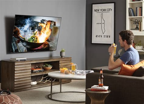 how high should a tv be mounted