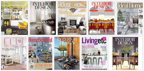Top Best Interior Design Magazines In Uk