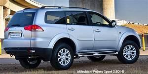 4x4 Mitsubishi Pajero Sport Occasion : mitsubishi pajero sport 2 5di d 4x4 specs in south africa ~ Medecine-chirurgie-esthetiques.com Avis de Voitures