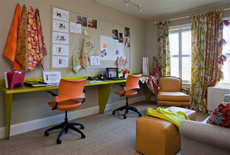 funky office furniture ideas funky second bedroom home office workstation view contemporary home office dc metro by
