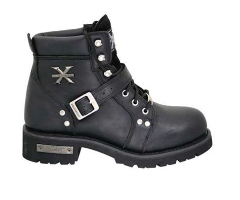 good cheap motorcycle boots ladies advanced lace up xelement motorcycle biker boots