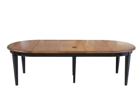 table cuisine extensible table ronde directoire bois massif avec rallonges