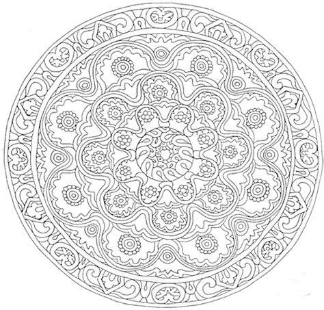 coloriage mandala dessins et images mandala gratuits 224 colorier imprimer mandala dessin