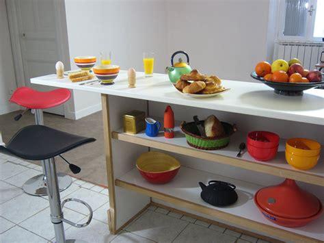 comptoir separation cuisine salon séparation comptoir cuisine