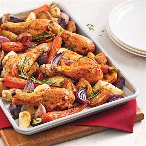 cuisine legumes pilons de poulet aux légumes racines recettes cuisine