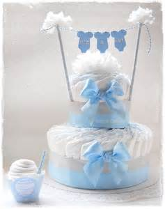 baby shower centerpieces boys gateau de couches baby shower it 39 s a boy babyscakes fr