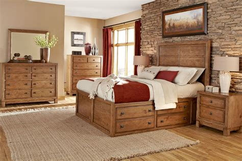 Rustic Bedroom Furniture Badcock  A Natural Look To Your