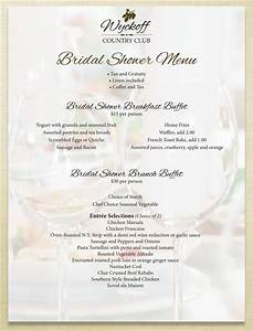 bridal shower menus bridal shower menu blush printables With wedding shower menus