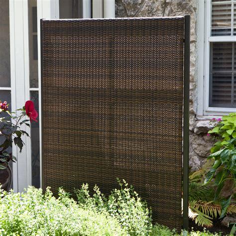 Backyard Screens by Versare Outdoor Wicker Resin Room Divider Outdoor