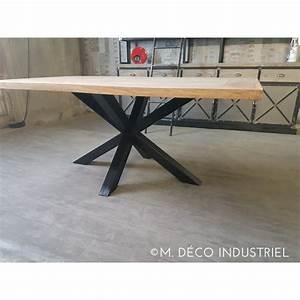 Pied De Table Basse Metal Industriel : pied table industriel 15 pieds de table m tal ~ Teatrodelosmanantiales.com Idées de Décoration