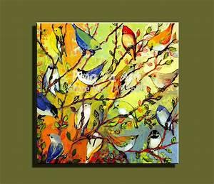 Abstract modern large canvas wall art handmade decorative