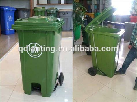 660l Larger Industrial Waste Container With Lid