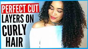 Diy Layered Haircut On Curly Hair  How To Cut Curly Hair