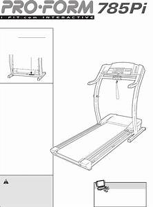 Proform Treadmill 785pi User Guide