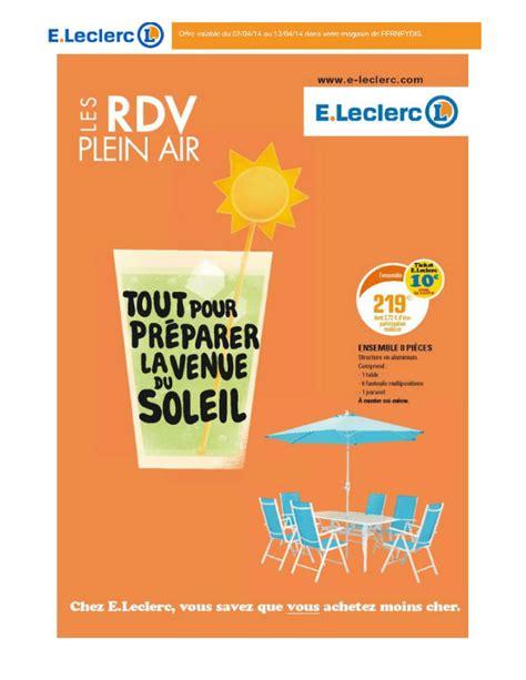 gifi cuisine e leclerc les rdv plein air cataloguespromo com