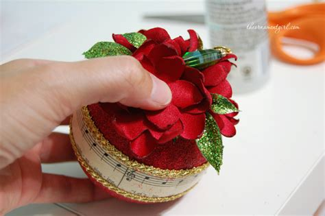 handmade christmas carol ornament tutorial and