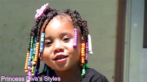 Toddler/ Hair/ Twists/ W/ Beads