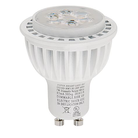 gu10 led bulb 55w equivalent dimmable bi pin bulb