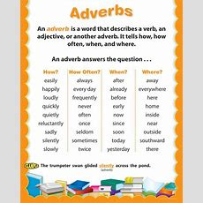 Definition Of Adverb With Examples  Adverb Redefined!  Pinterest  Posts, Adverbs And Definitions