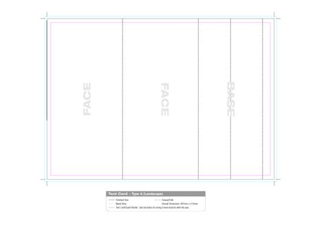 tent card template  commercewordpress