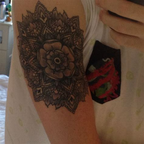 finished yorkshire rose tattoo general tattoos