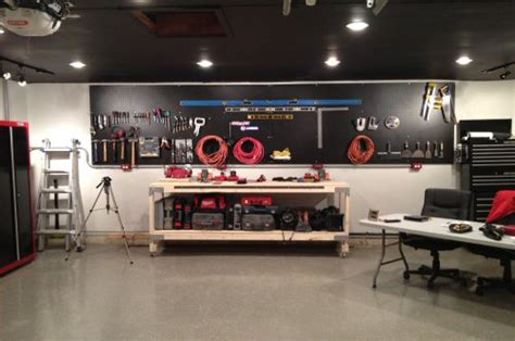 paint pegboard  give  workshop