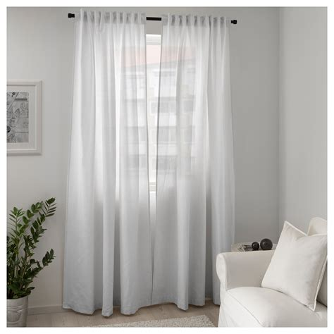 Ikea Beige by Ikea Tibast Curtains 1 Pair White In 2019 Products