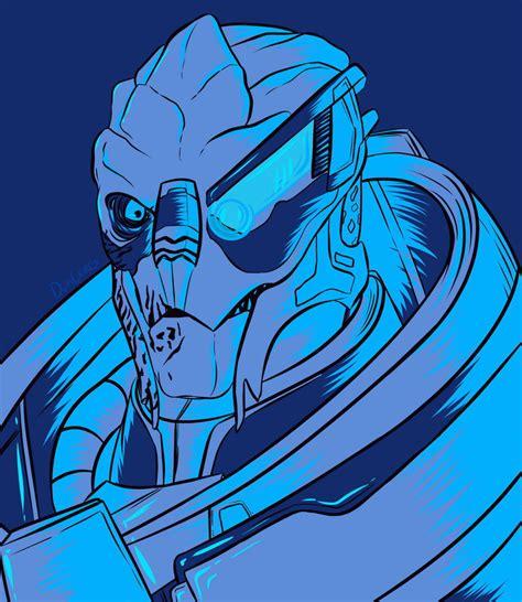 Garrus Vakarian Mass Effect Fan Art By Doncorgi On