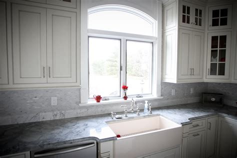 Red Hot   White Designer Kitchen Holmdel New Jersey by